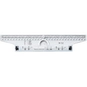 "12"" Rolling Parallel Ruler Drafting Supplies, Ruling and Measuring Tools, Specialty Rulers, Alvin Rolling Parallel Ruler"