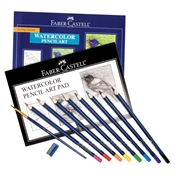 FC800094 : Faber-Castell Getting Started Watercolor Set