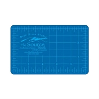 "3.5"" x 5.5"" Blue/Gray Hobby Cutting Mat"