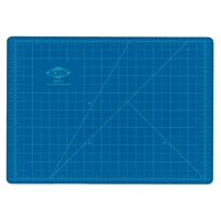 "8.5"" x 12"" Blue/Gray Hobby Cutting Mat"