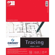 "C100510961 : Canson 11"" x 14"" Foundation Series Tracing Paper Pad"