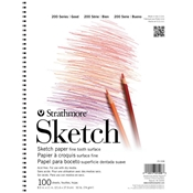 "11"" x 14"" 200 Series Wirebound Sketch Pad Drafting Paper and Drawing Media, Sketchbooks and Sketch Pads, Sketch Pads"