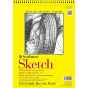 "3.5"" x 5"" 300 Series Wirebound Sketch Pad Drafting Paper and Drawing Media, Sketchbooks and Sketch Pads, Sketch Pads"
