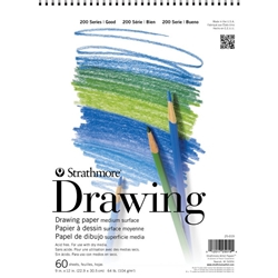 "11"" x 14"" 200 Series Wirebound Drawing Pad Drafting Paper and Drawing Media, Drawing Pads"