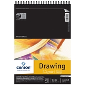 "C100510886 : Canson 9"" x 12"" C ? Grain Artist Series Drawing Paper Pad"