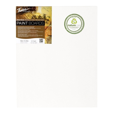 "M561 : Fredrix 12"" x 12"" PRO Series Mixed Media Paint Board"