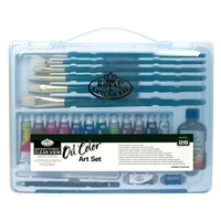 RSET-ART3201 : Royal & Langnickel Clear View Art Set Oil
