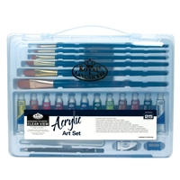 RSET-ART3202 : Royal & Langnickel Clear View Art Set Acrylic