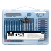 RSET-ART3204 : Royal & Langnickel Essentials Clear View Large Art Case Drawing Set