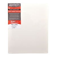 "T5004 : Fredrix 4"" x 5"" Red Label Standard Stretched Canvas"