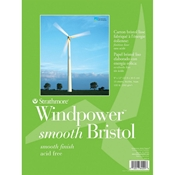 "9"" x 12"" Windpower Smooth Bristol Pad"