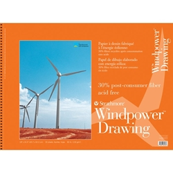 "11"" x 14"" Windpower Wirebound Drawing Pad Drafting Paper and Drawing Media, Drawing Pads"