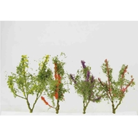 WS00302 : Wee Scapes Flower Trees 1.5-2 8 Pack Multicolor