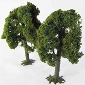 "WS00322 : Wee Scapes Deciduous Trees 3.25"" - 3.5"" 2-Pack"