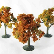 "WS00324 : Wee Scapes Autumn Trees 2.25"" - 2.5"" 3-Pack"