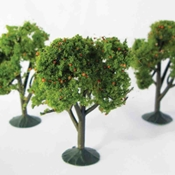 "WS00325 : Wee Scapes Orange Trees 2.25"" - 2.5"" 3-Pack"