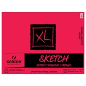 "18"" x 24"" XL Sketch Pad Drafting Paper and Drawing Media, Sketchbooks and Sketch Pads, Sketch Pads"