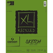 "C100510923 : Canson 11"" x 14"" XL Recycled Sketch Pad - 100 Sheets"