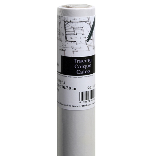 "C100510827 : Canson 36"" x 10 yds. Foundation Series Tracing Roll"