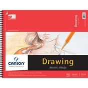 "C100510980 : Canson 14"" x 17"" Foundation Series Drawing Paper Pad"
