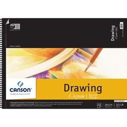 "C100510889 : Canson 18"" x 24"" C ? Grain Artist Series Drawing Paper Pad"