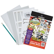 "C100510910 : Canson Fanboy 6.625"" x 10.25"" Make Your Own Comic Book Pack"