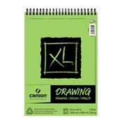 "C100510936 : Canson 9"" x 12"" XL Wirebound Drawing Pad"
