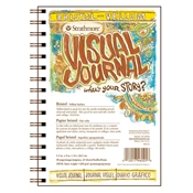 "5.5"" x 8"" Visual Journal Vellum Wirebound Bristol Book Drafting Paper and Drawing Media, Sketchbooks and Sketch Pads, 5.5"" x 8"" Visual Journal Vellum Wirebound Bristol Book"