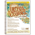 "9"" x 12"" Visual Journal Wirebound Bristol Book - Vellum Surface"