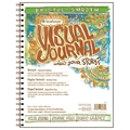 "9"" x 12"" Visual Journal Smooth Wirebound Bristol Book"