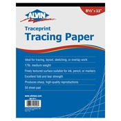 "8.5"" x 11"" Traceprint Tracing Paper Drafting Paper and Drawing Media, Tracing Paper"