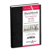 "4"" x 6"" Alpha Series Hardbound Sketchbook Drafting Paper and Drawing Media, Sketchbooks and Sketch Pads, Hardbound Sketchbooks"