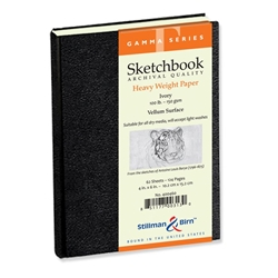 "4"" x 6"" Gamma Series Sketchbook Drafting Paper and Drawing Media, Sketchbooks and Sketch Pads, Wirebound Sketchbooks"