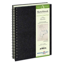 "9"" x 12"" Delta Series Wirebound Sketchbook Drafting Paper and Drawing Media, Sketchbooks and Sketch Pads, Wirebound Sketchbooks"