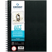 C200006411 : Canson ArtBook Repositionable Mix Media Wirebound Book