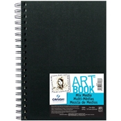 "C100516109 : Canson  7"" x 10"" ArtBook Mix Media Wirebound Book"