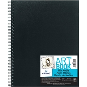 "C100516110 : Canson  9"" x 12"" ArtBook Mix Media Wirebound Book"