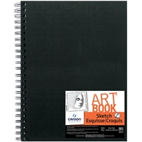 "C100510429 : Canson 9"" x 12"" ArtBook Artist Series Wirebound Sketchbook"