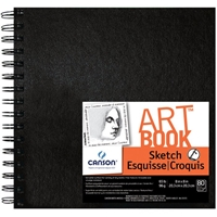 "C100510435 : Canson 8"" x 8"" ArtBook Artist Series Wirebound Sketchbook"
