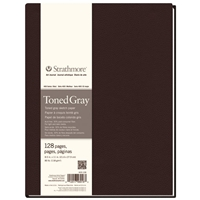 "8.5"" x 11"" 400 Series Sewn Bound Toned Gray Sketch Art Journal Drafting Paper and Drawing Media, Sketchbooks and Sketch Pads, 8.5"" x 11"" 400 Series Sewn Bound Toned Gray Sketch Art Journal"