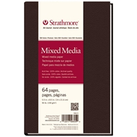 "5.5"" x 8.5"" 500 Series Mixed Media Hardbound Art Journal Drafting Paper and Drawing Media, Sketchbooks and Sketch Pads, 5.5"" x 8.5"" 500 Series Mixed Media Hardbound Art Journal"