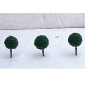 WS00320 : Simi Creative Products Architectural Model Dark Green Micro Trees