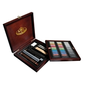 RSET-PAS1600 : Royal & Langnickel Premier Art Set Pastel Pencil