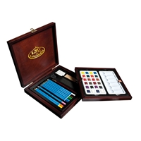 RSET-WPEN1600 : Royal & Langnickel Premier Art Set Watercolor Pencil