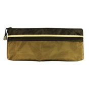 "5"" x 13"" Dual Zippered Pocket Fabric Mesh Bag Drafting Supplies, Portfolios and Cases, Utility Bags"