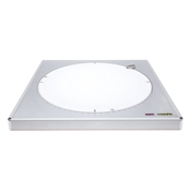 "12 3/4"" LED Revolving Work Surface Drafting Furniture, Drafting Tables and Drawing Boards, Light Tables and Boxes, Artograph LED LightPad Revolution"