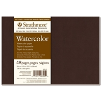 "8"" x 5.5"" 400 Series Watercolor Softcover Art Journal Drafting Paper and Drawing Media, Sketchbooks and Sketch Pads, 8"" x 5.5"" 400 Series Watercolor Softcover Art Journal"