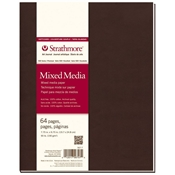 "7.75"" x 9.75"" 500 Series Mixed Media Softcover Art Journal Drafting Paper and Drawing Media, Sketchbooks and Sketch Pads, 7.75"" x 9.75"" 500 Series Mixed Media Softcover Art Journal"