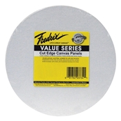 "M561 : Fredrix 12"" Round Value Series Canvas Panels 6-Pack"