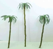 "WS00359 : Wee Scapes Architectural Model Assorted Palm Trees 1"" to 3"" 4-Pack"